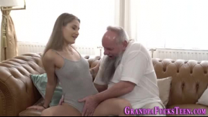 Old gramps blowjob